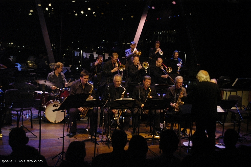 playing lead with the Dutch Jazz Orchestra, Bimhuis Amsterdam 2008